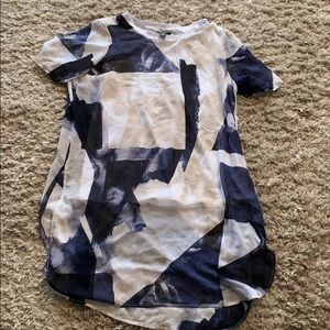 Sheer alfani tunic size 16